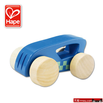 Hape toy mini barrowload 0-1 year old infant wool wooden puzzle