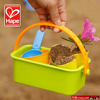 Hape beach toy set ice cream sand tools child baby toy sunscreen