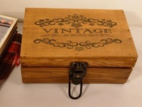 Do old Wooden Secret Storage Box With Lock