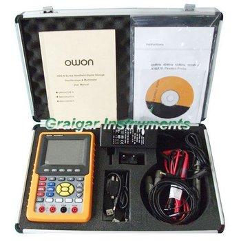 Owon HDS2062M-N osciloscopio Digital multímetro Digital envío rápido
