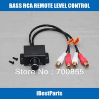 CAR AUDIO AMPLIFIER REMOTE LEVEL RCA CONTROL BASS BOOST KNOB LC-1