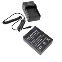 Car Charger + Charger + Adapter for GoPro HD Hero 3 Battery - Black