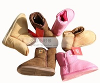 Warrior snow boots warm shoes child boots children boots children shoes male female child knee-high snow boots