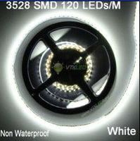 NEW 5M SMD 3528 Cool White Non-waterproof LED Strip Light 600 LEDs Flexible Flash 120led/M, led light strip 12 volts