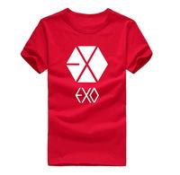 Exo t-shirt kris short-sleeve o-neck t shirt exo t-shirt