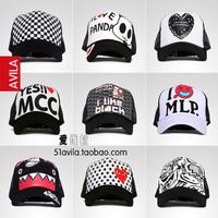 Summer mesh cap hiphop truck cap woman baseball cap female hat male sun-shading