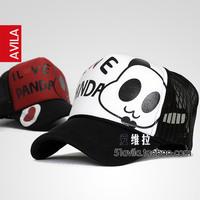 Giant panda mesh cap truck cap truck cap spring summer male women's lovers hat