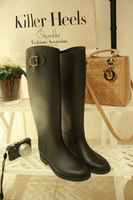 Free shipping Star high quality fashion boots women's snow boots rainboots YWGQ041501