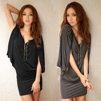 2013 spring and summer women's elegant loose line dress one-piece dress