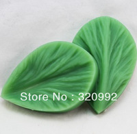 Free shipping Q0021 Leaves Sugar Art silicone molds Fondant Cake and fondant mold silicon molds cake decorating