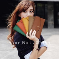 Promotion Hot Simple Style Women's Envelope Clutch Lady Hand Bag Wrist Wallet totes Hot Products wholesale S029
