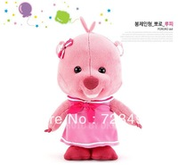 South Korea pororo beaver Loopy plush toy doll pig anime. Conform to European safety standards. To the baby safe, guaranteed.