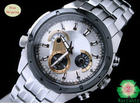 100% Original New EF-535D-7AV EF-535D 535D Men's Chronograph Sport 100M Waterproof Wrist Watch With Logo Free Shipping