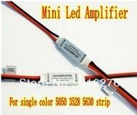 5pcs/Lot 5-24V 12A  288W Mini LED Amplifier For single color 5050 3528 5630 strip, High Quality