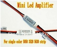 5pcs/Lot DC12V 12A 144W Mini LED Amplifier For single color 5050 3528 5630 strip