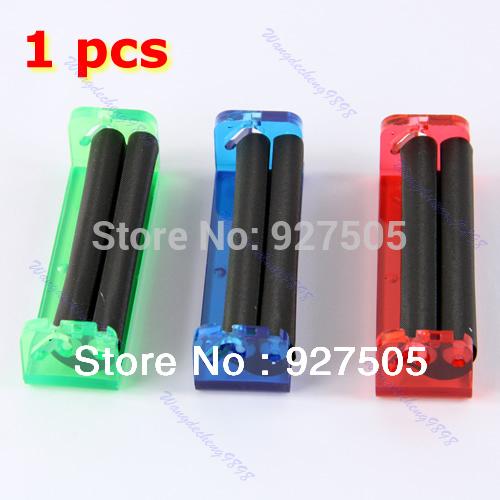 B39Free Shipping New 1 pcs Tobacco Roller Cigarette Making Maker Rolling Machine 78mm(China (Mainland))