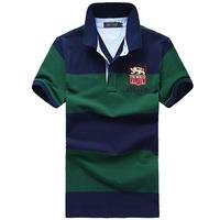 Polo shirt male short-sleeve turn-down collar casual male polo shirt polo shirt male short-sleeve
