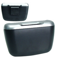 free shipping Vehienlar eco-friendly garbage container glove box glove box