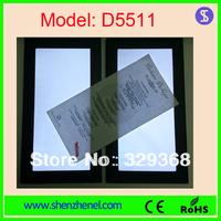 Model D5511  brightnss adjustable menu cards One side lighting panel