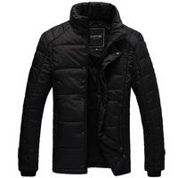 Rabbit short design wadded jacket men's clothing slim cotton-padded jacket winter wadded jacket male wadded jacket male