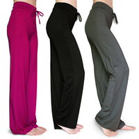 women clothing female slim fitness workout yoga clothes plus size loose dance pants cheap price 2013