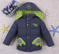 Free shipping boy down jacket in winter to keep warm cotton-padded jacket
