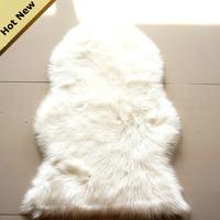 CR-22 quality Luxury Shaggy Faux Wool Fur Carpet Sheepskin Rug Carpet Super Soft Rug Bed spread Chair Cover Floor Seat Mat Pad