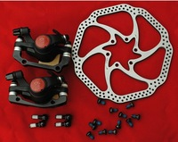 AVID genuine BB5 BB-5  disc brakes  with discs mountain bike mechanical Calipers  Bike MTB  bicycle parts 1 set Free shipping