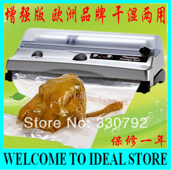 DHL/FEDEX Free shipping  Magic Seal P.R. Household Vacuum Sealer/FoodSaver/Home Vacuum Machine/Food Preserver  +3 rolls bags