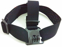 F05745 OEM GoPro Helmet Head Strap Belt Mount Camera Fixed Headband Size Adjustable Anti-Skid For Gopro Hero HD 2 3 + Free ship