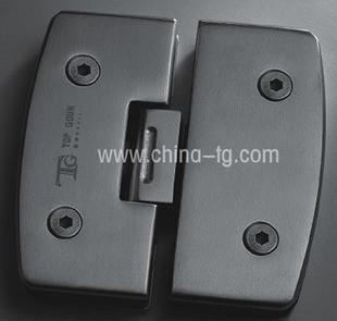 Dinggu hardware bathroom clip glass open the door hinge tg-h02 180