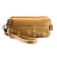 2013 summer new canvas bag Casual retro cotton bag lady purse  Wallets Cosmetic bag Wristlet