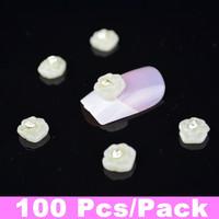 100pcs/pack 3D Nail Art Resin Perfect Nail Art Decoration + Free Shipping