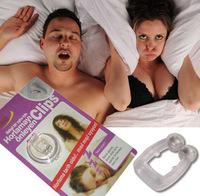 2012 New Anti Snoring Device STOP snoring Nose plug clip snoring aid Nasal Snor AID Sleep Free shipping