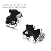 Min.order is $10 (mix order) Free Shipping Wholesale 2013 Fashion women's 316L Stainless Steel Earrings for women Gift GE226