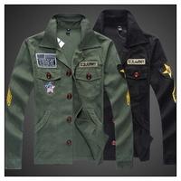 NJFj1, 2014 autumn and wintermen's jacket coat fashion wild Korean Army Men Jacket military jacket men coat with top quality