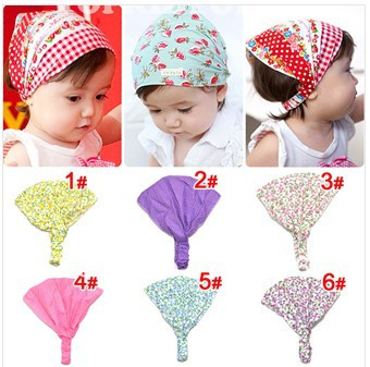 10pcs/lot Free shipping!Wholesale Printed cotton baby headband infant hairband Girl's Head Accessories Baby hair accessories