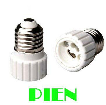 E27 to GU10 Lamp Base Adapter Converter Screw Socket Holder for LED Light Bulb High Quality DHL Free Shipping 50pcs/lot(China (Mainland))