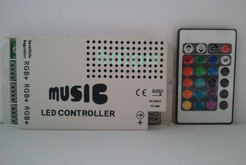 RGB sound activated music led controller