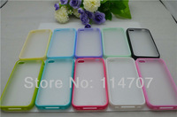 10pcs/lot New arrival PC+TPU frosted case for Iphone 4/4S with good price , Free Shipping