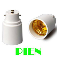 Lampholder B22 to E27 Adapter Base Socket Converter for LED Light Bulb High quality Free Shipping 20pcs/lot