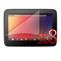 "8xShiled Screen Protector Film Guards /Clear LCD Screen Protector Film Guard  For Google Nexus 10 10"" Tablet  10 inch"