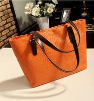 2014 new simple handbag fashion handbag Candy Egypt grain bag restoring ancient ways Free Shipping