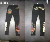 free shipping Ed hardy legging pants ed hardy tights