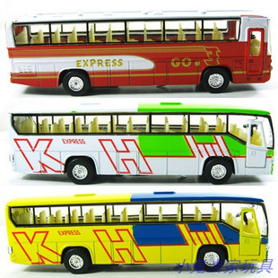 Plain alloy bus cars car toy bus model alloy car models bus