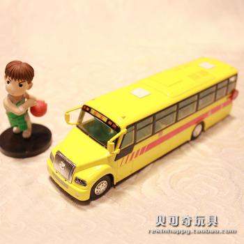 Alloy car models school bus toy bus model of the bus alloy WARRIOR toy car