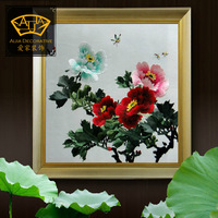 (No 1025403933) flower*handmade su Zhou embroidery*unique Christmas /wedding gift*innovative handicraft home decoration