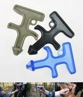 New EDC Self Defense Stinger Duron Drill Protection Tool Key Chain Plastic Steel