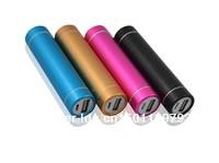 whole sale- 10pcs/Lot 2600Mah mini bank power portable power source USB battery for camera cell phone laptop