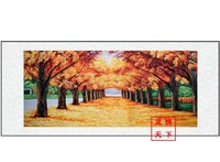 Autumn*handmade su Zhou embroidery*unique Christmas /wedding gift*innovative handicraft home decoration[1025422503]